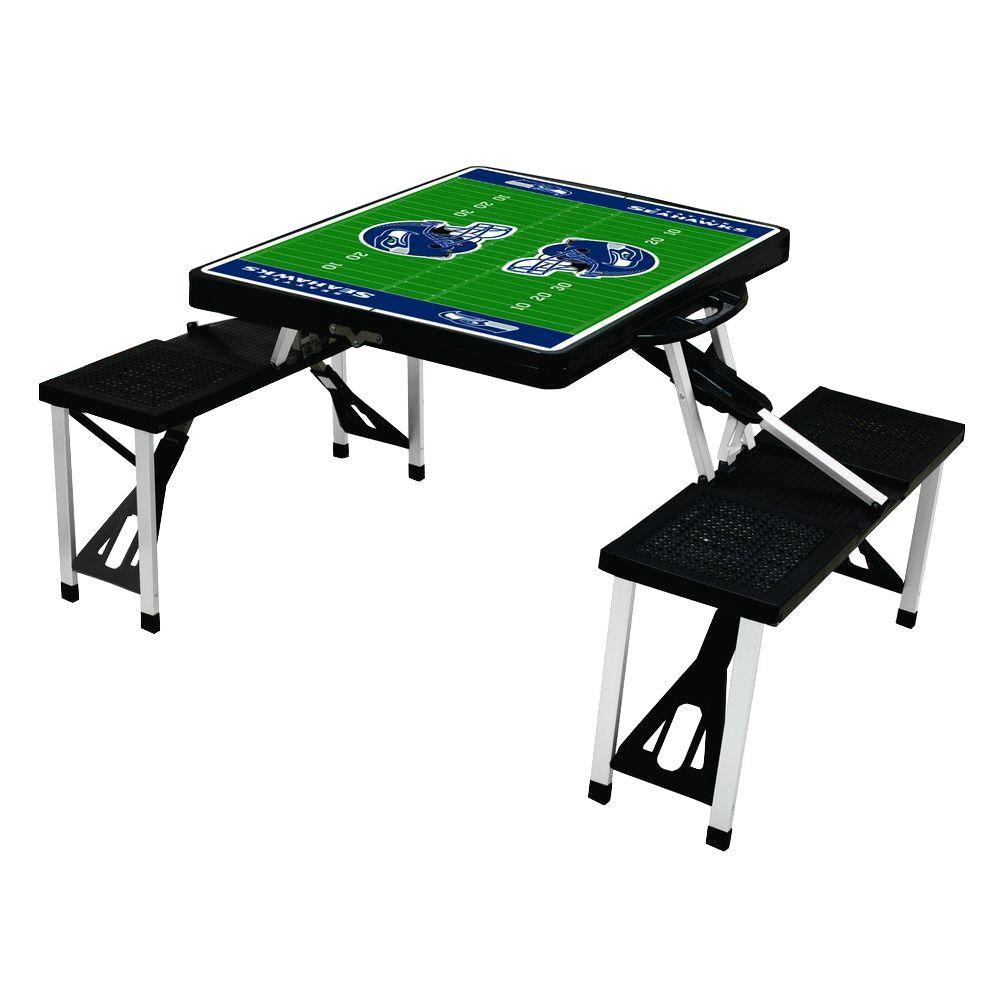 Picnic Time Seattle Seahawks Sport Plastic Outdoor Patio Picnic ...