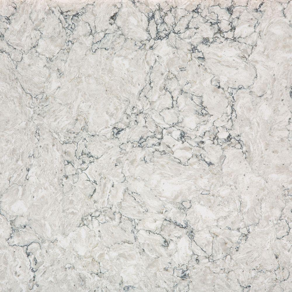 Silestone 2 in x 4 in quartz countertop sample in pietra for Silestone vs granite