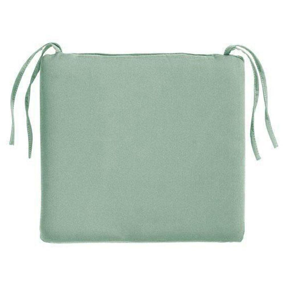 Home Decorators Collection 18 X Outdoor Chair Cushion In Sunbrella Mist