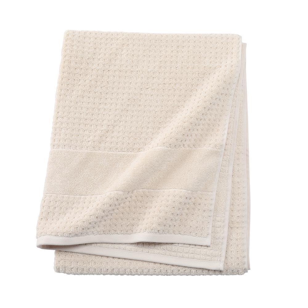 Fairhope 1-Piece Turkish Bath Towel in Latte
