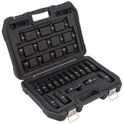 1/2 in. Drive Impact Socket Set (30-Piece)