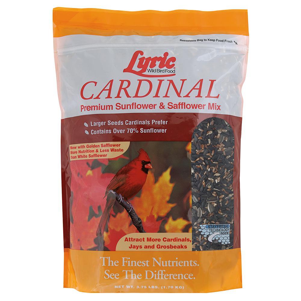 3.75 lb. Cardinal Premium Sunflower and Safflower Wild Bird Mix