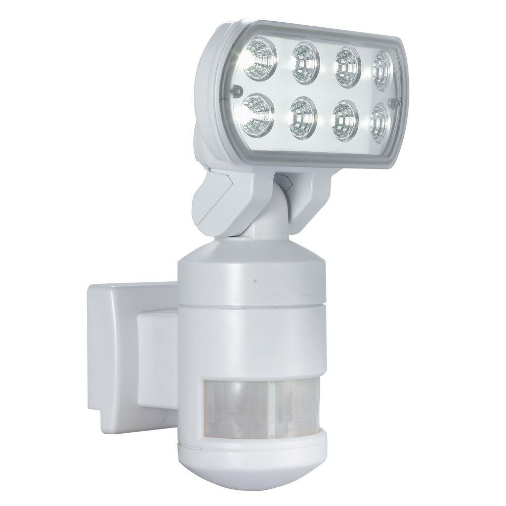 220 Degree Outdoor White Motion Tracking Led Security Light