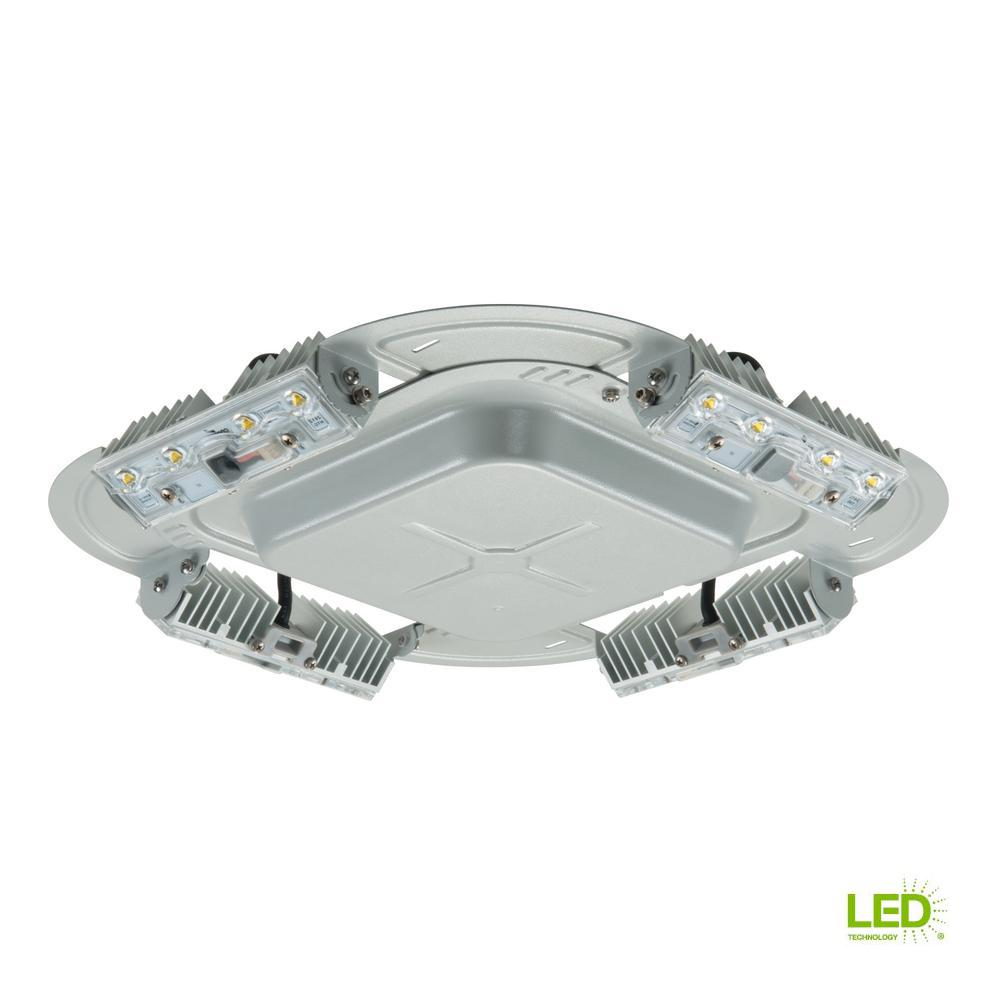 Lithonia Lighting OLAL2 Gray Outdoor Integrated LED 4000K