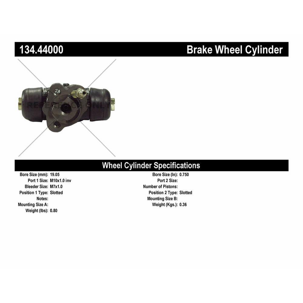 Centric Parts 134.44000 Drum Brake Wheel Cylinder