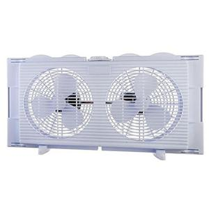 BoostWaves 6 inch High Velocity 2-in-1 Double Window Fan Horizontal Vertical Fit... by BoostWaves
