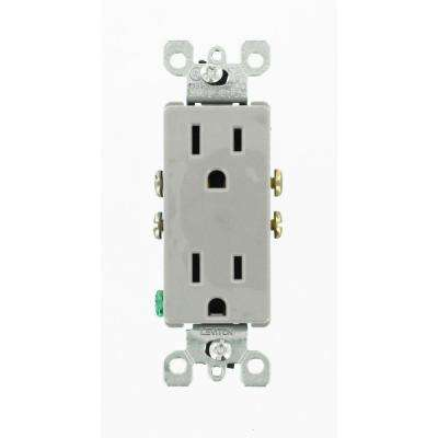 gray isolated ground electrical outlets receptacles wiring rh homedepot com leviton residential wiring devices residential electrical wiring devices