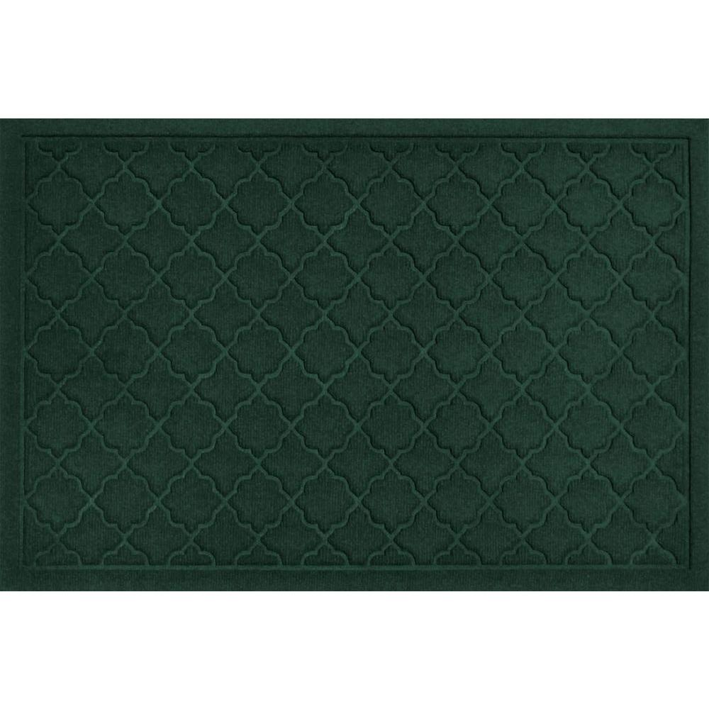 WaterGuard Cordova Evergreen 2 ft. x 3 ft. Polypropylene Mat