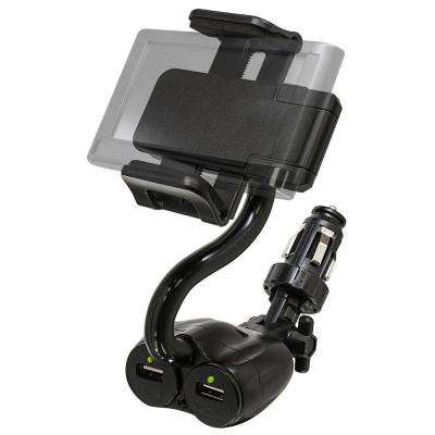 TekGrip Power Dock with 2-Outputs, Black
