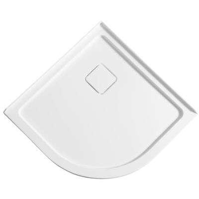 Eternity Series 38 in. x 38 in. Double Threshold Shower Base in White