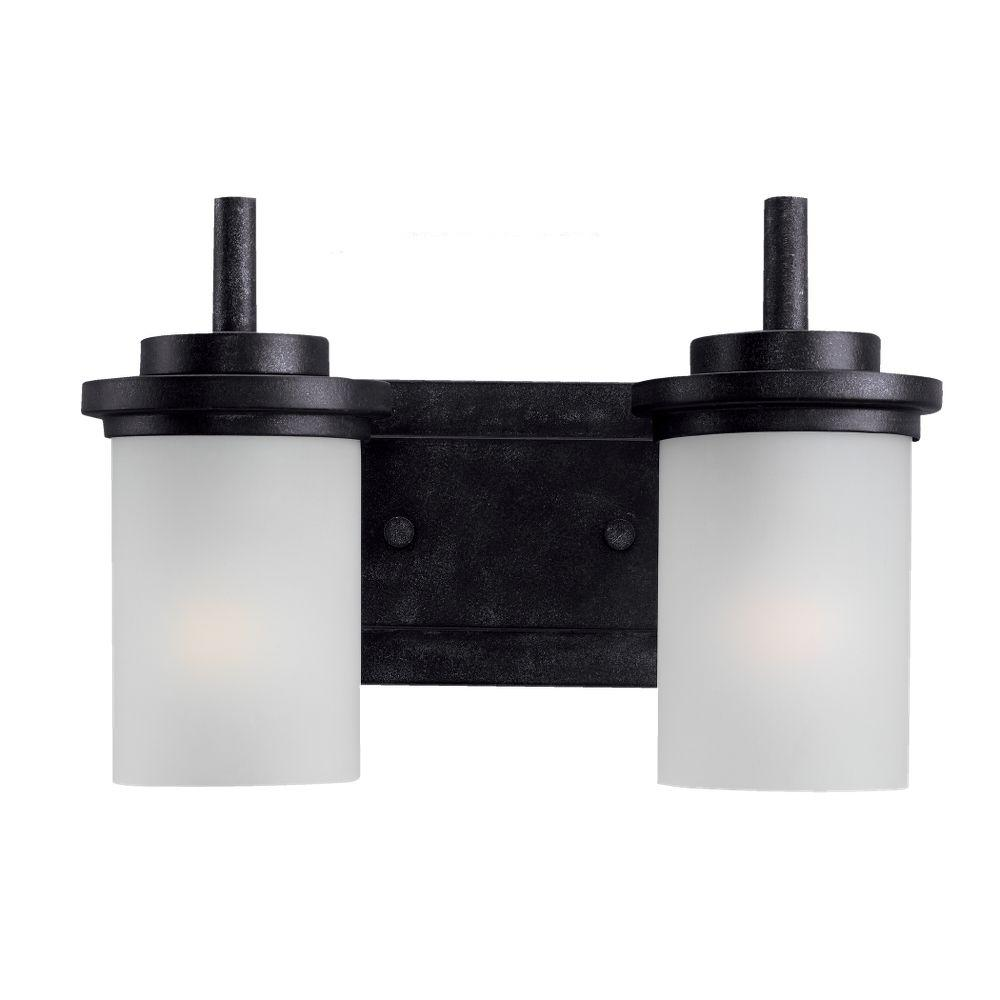 Winnetka 2-Light Blacksmith Vanity Light