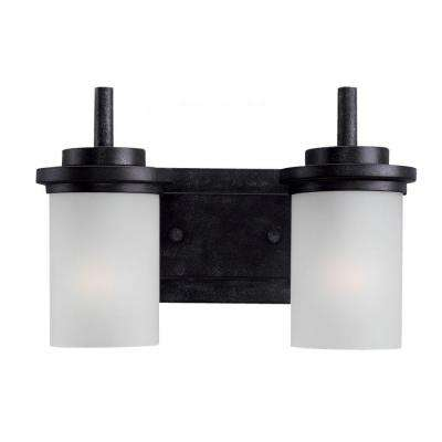 Winnetka 2-Light Blacksmith Vanity Light