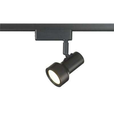 LED Mini Step Linear Track Lighting Head Black