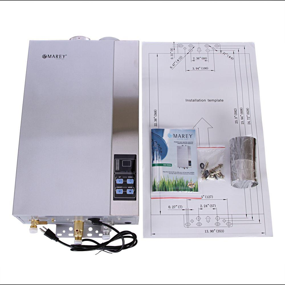 MAREY 4.3 GPM Natural Gas Tankless Water Heater