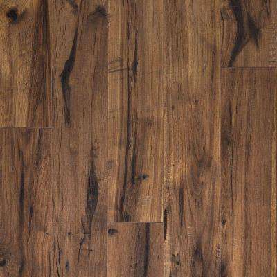 Creekbed Hickory Laminate Flooring - 5 in. x 7 in. Take Home Sample