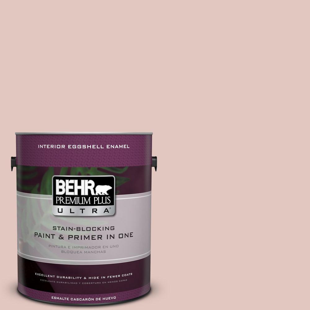 BEHR Premium Plus Ultra 1-gal. #S170-2 Rosewater Eggshell Enamel Interior Paint