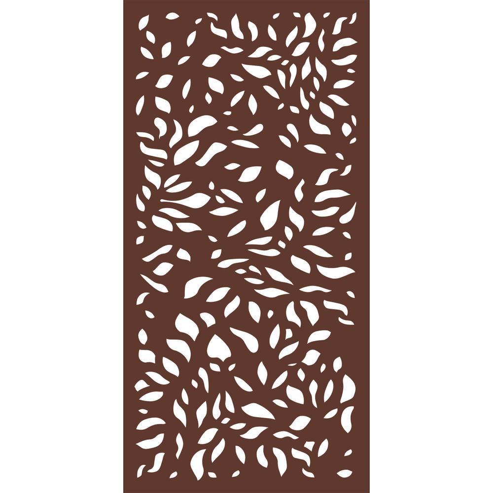Modinex 6 Ft X 3 Ft Espresso Brown Modinex Decorative