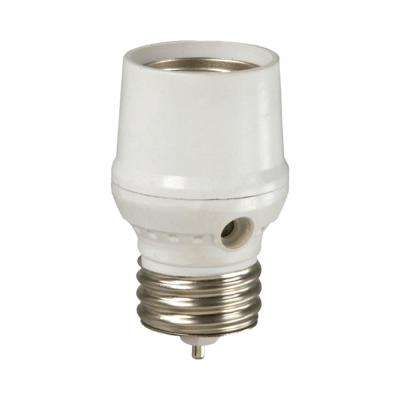 CFL/LED Screw-In Dusk to Dawn Light Control, White