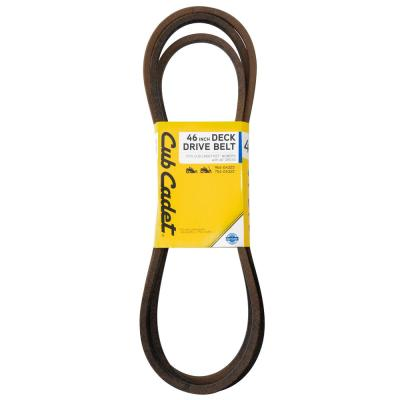 46 in. Deck Drive Belt for RZT Mowers with 46 in. Decks Replacement Part OE# 954-04325/754-04325