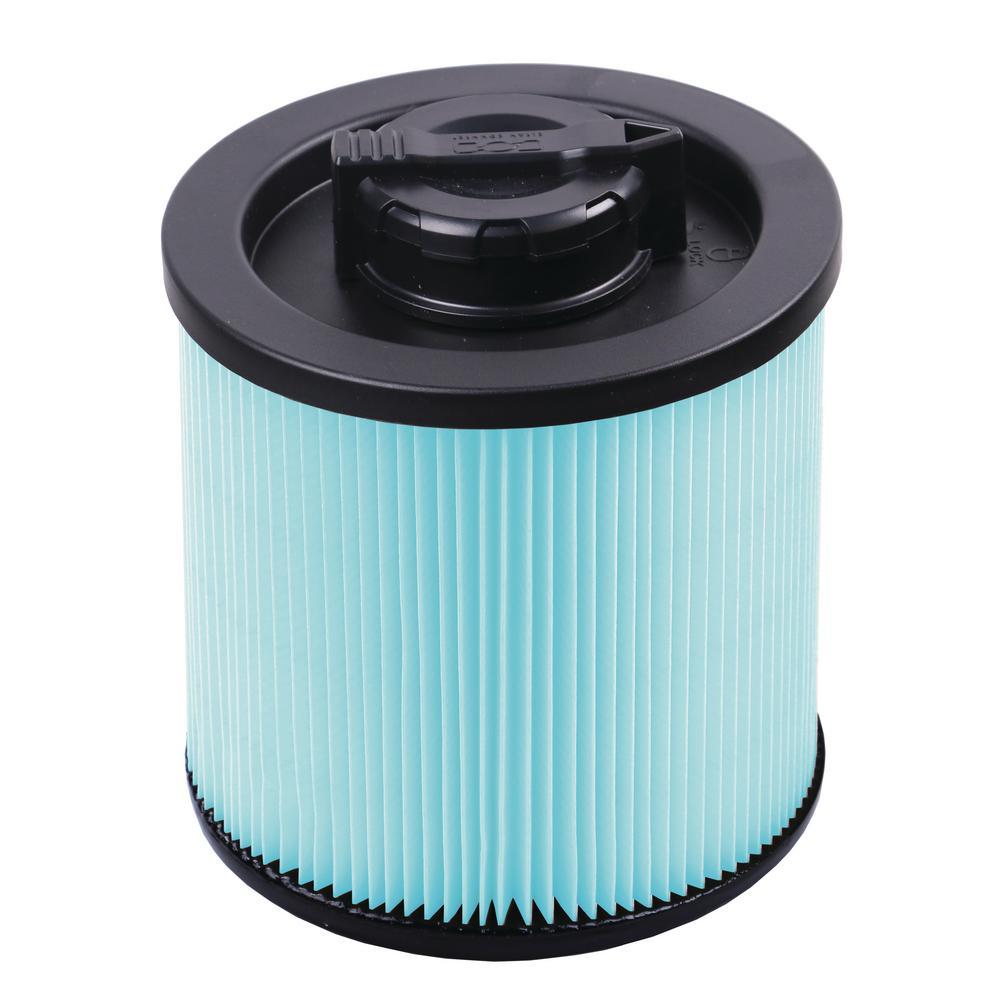 4 Gal. HEPA Material Cartridge Filter for Wet/Dry Vacuum