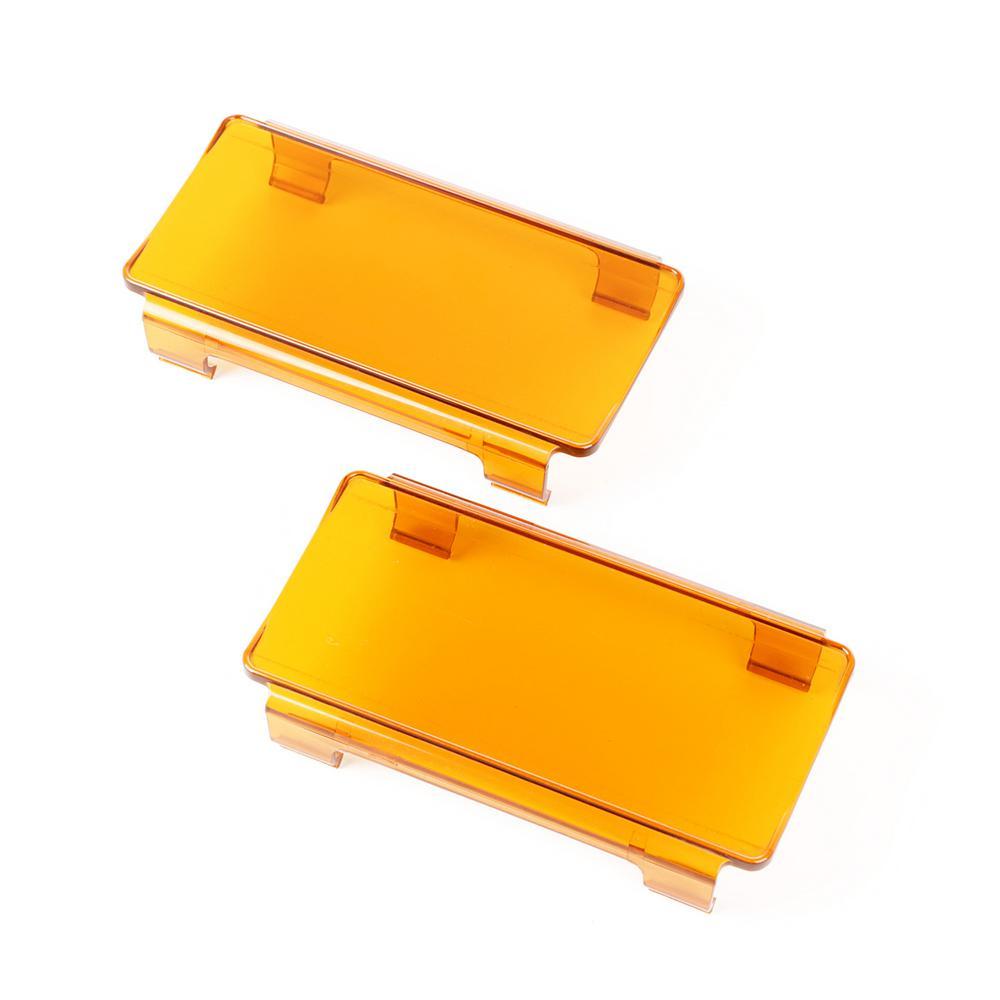 LED Light Cover Pair Amber