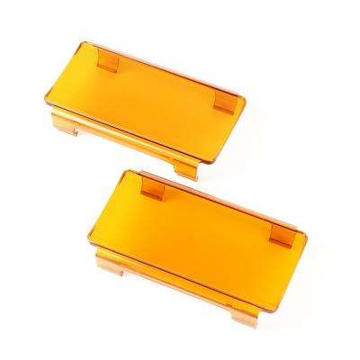 LED Light Cover Pair Amber