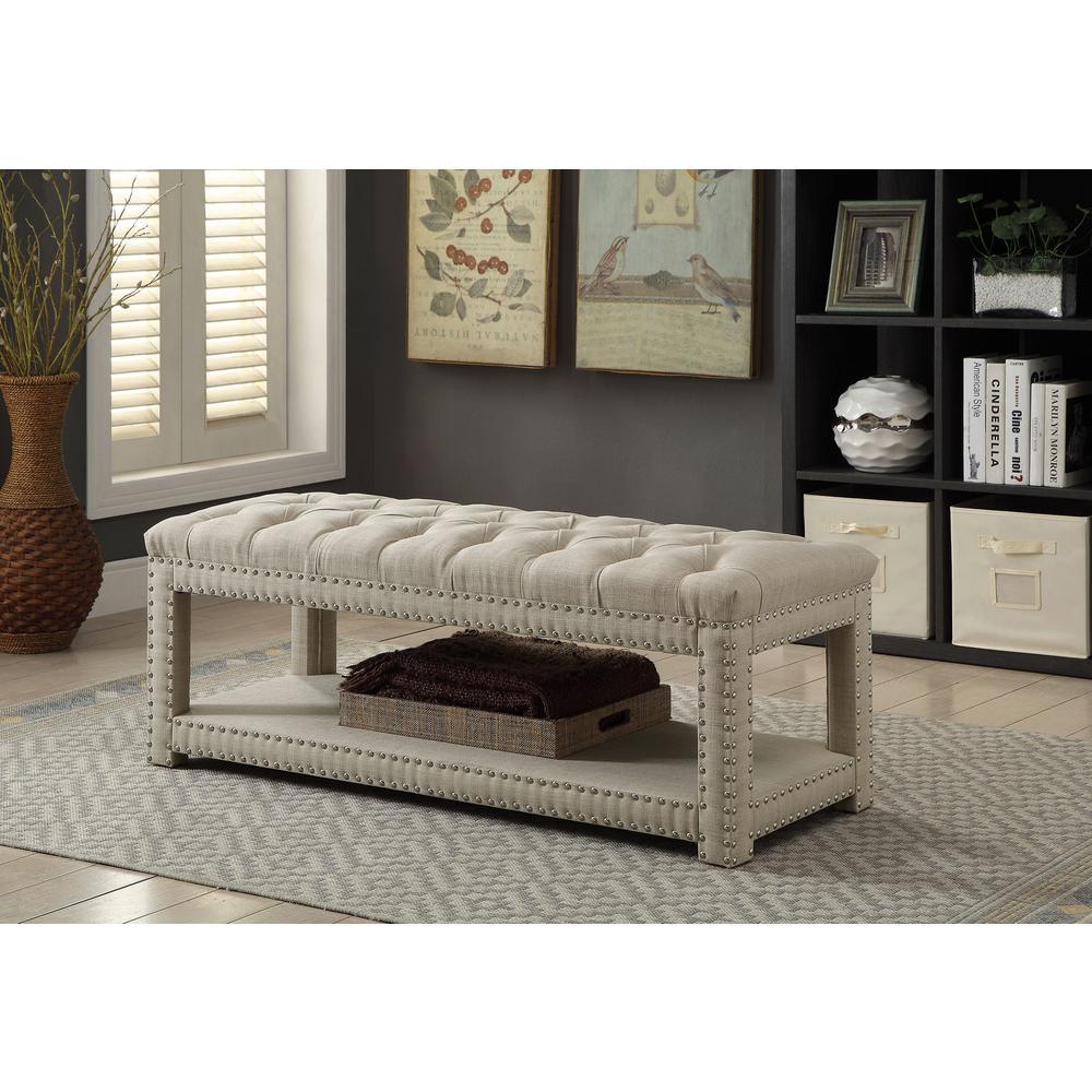Remarkable Williams Home Furnishing Einar Contemporary Style Beige Unemploymentrelief Wooden Chair Designs For Living Room Unemploymentrelieforg