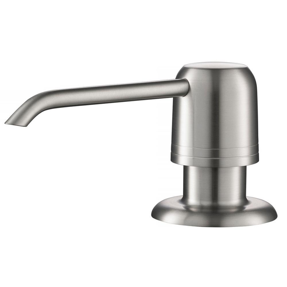 Spot Free Kitchen Soap Dispenser in All-Brite Stainless Steel