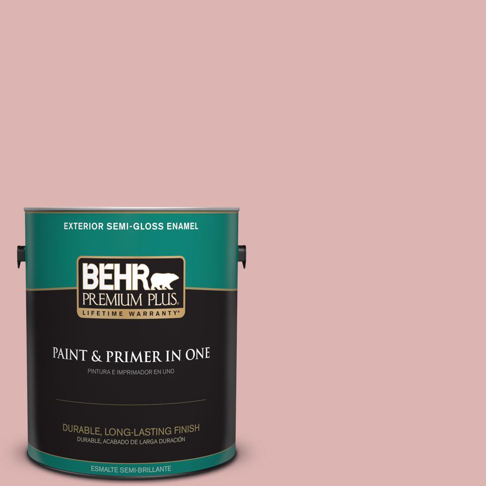 1-gal. #S150-2 Tea Room Semi-Gloss Enamel Exterior Paint