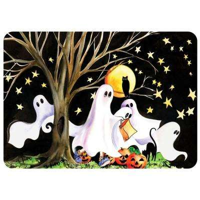 Halloween Night 22 in. x 31 in. Polyester Surface Mat