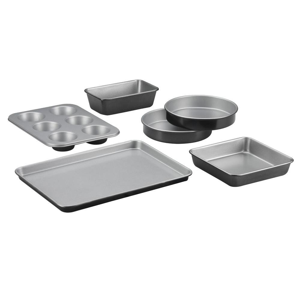 Cuisinart Chef S Clic 6 Piece Black Bakeware Set
