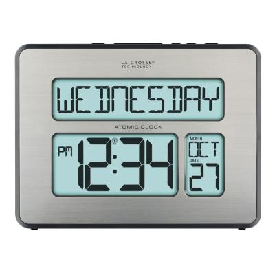 Atomic Full Calendar Digital Clock with Extra Large Digits - Perfect Gift for the Elderly