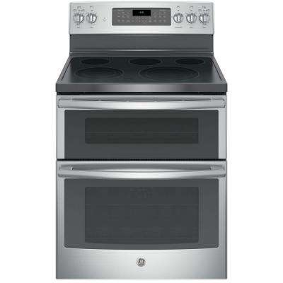 Double Oven Electric Range With Self Cleaning And Convection Lower