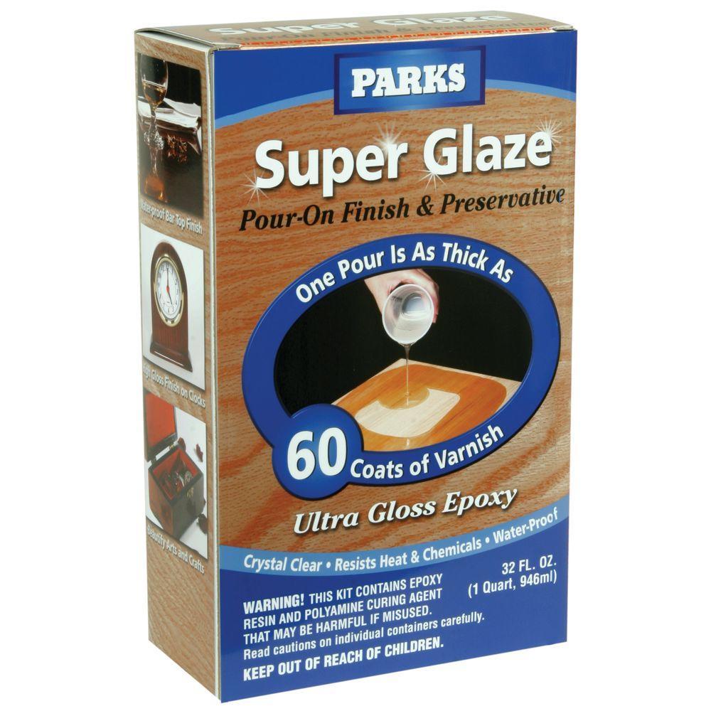 1-qt. Gloss Super Glaze Interior Finish and Preservative (3 Pack)