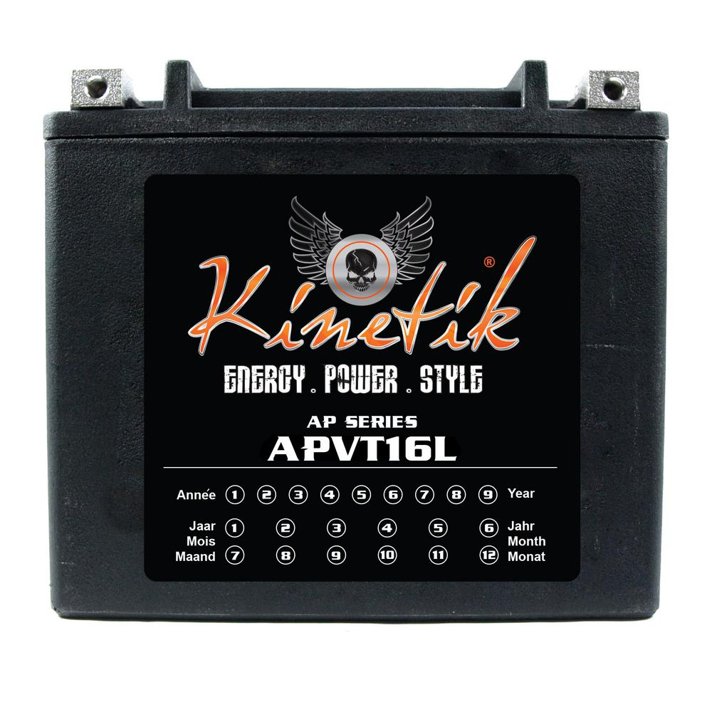 The Upgrade Group Sealed AGM V-Twin Heavy Duty 12-Volt 19...