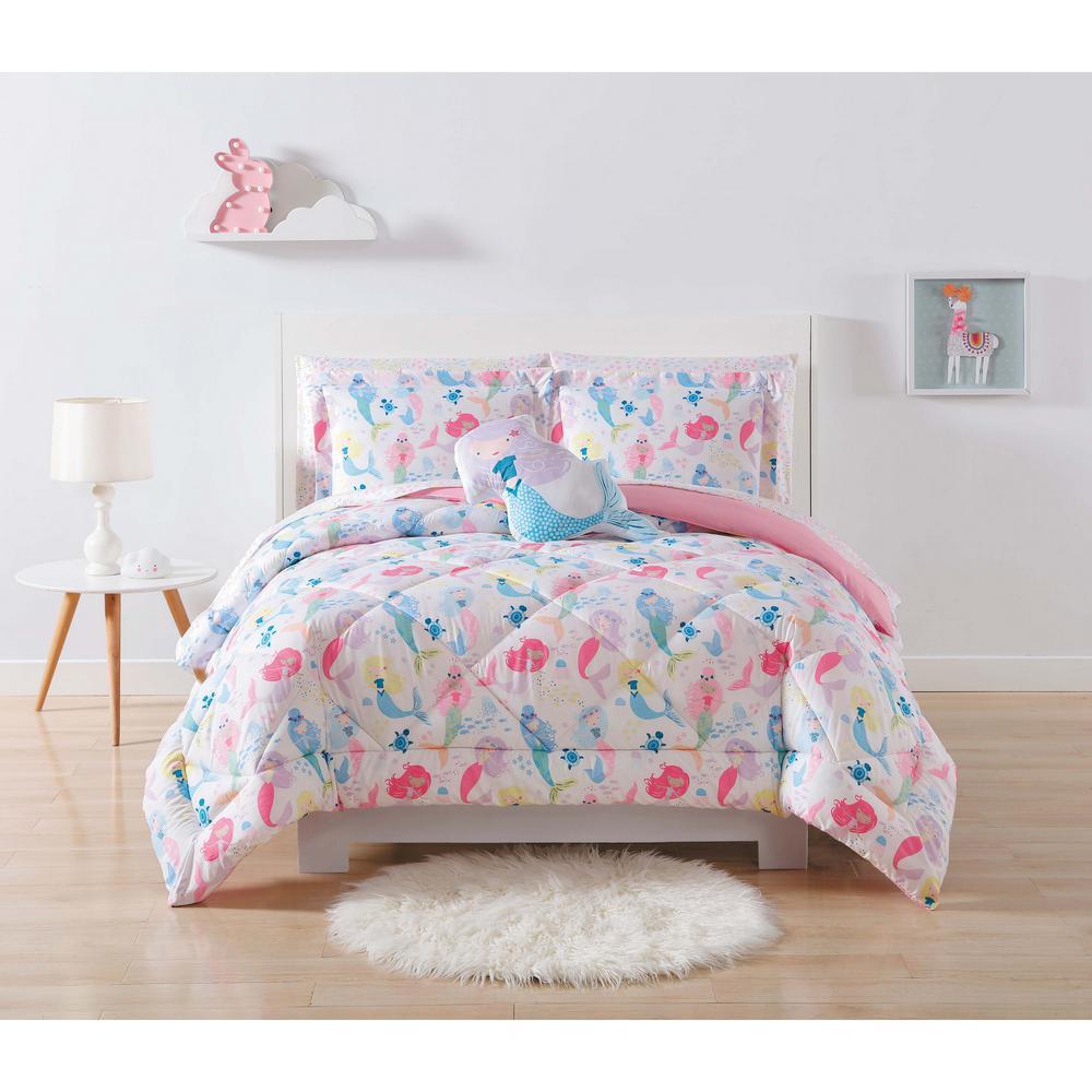 Kids Mermaids Twin XL Comforter Set