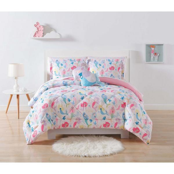My World Kids Mermaids Full/Queen Comforter Set CS2323FQ-1500