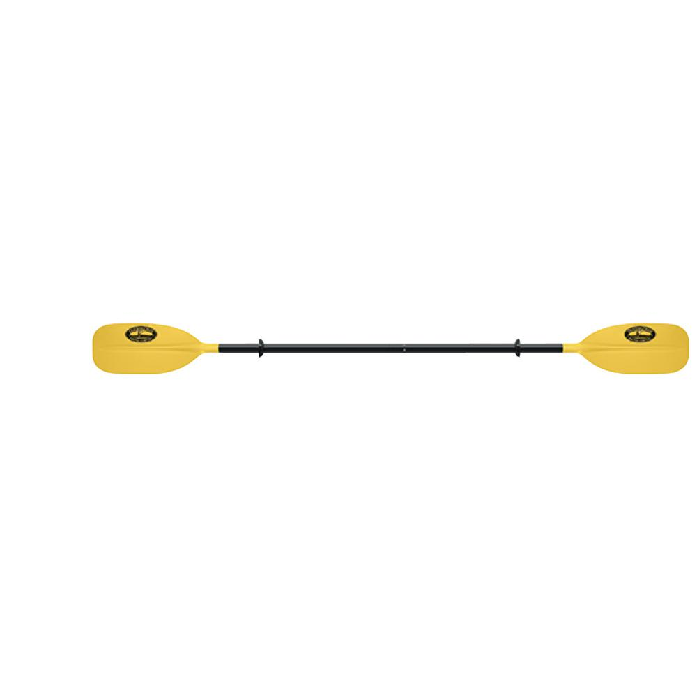 7 ft. Straight Blade Kayak Paddle, Yellow