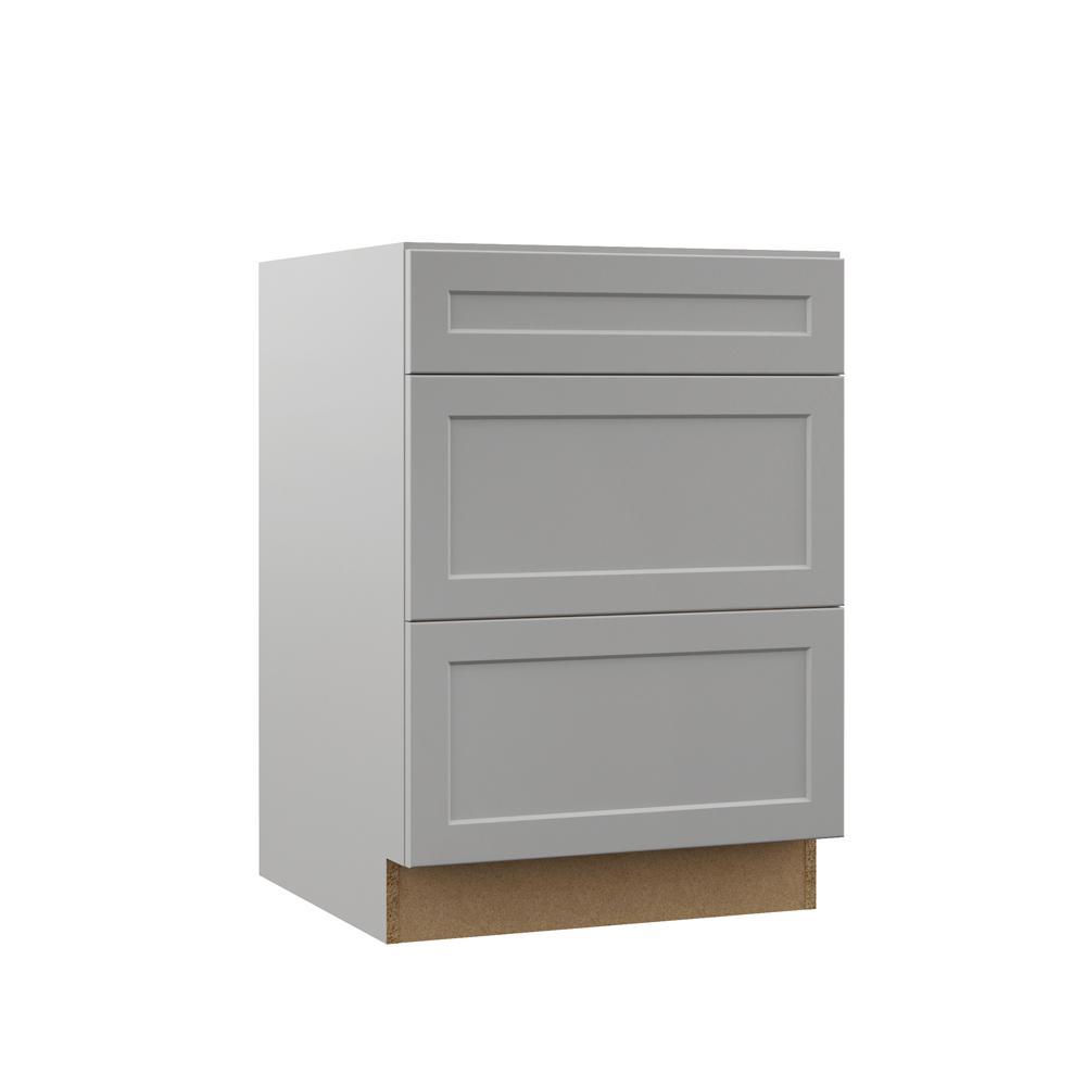 Hampton Bay Designer Series Melvern Embled 24x34 5x21 In Bathroom Vanity Drawer Base Cabinet