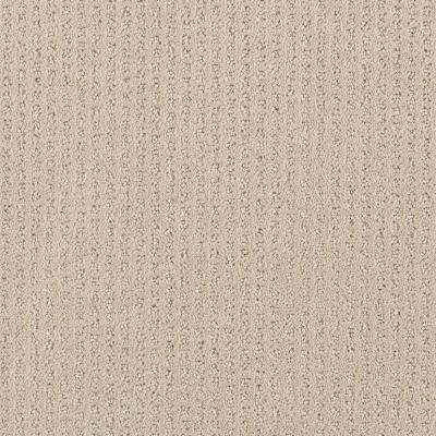 Sample - Sequin Sash - Color Toasted Almond Pattern 8 in. x 8 in. Carpet