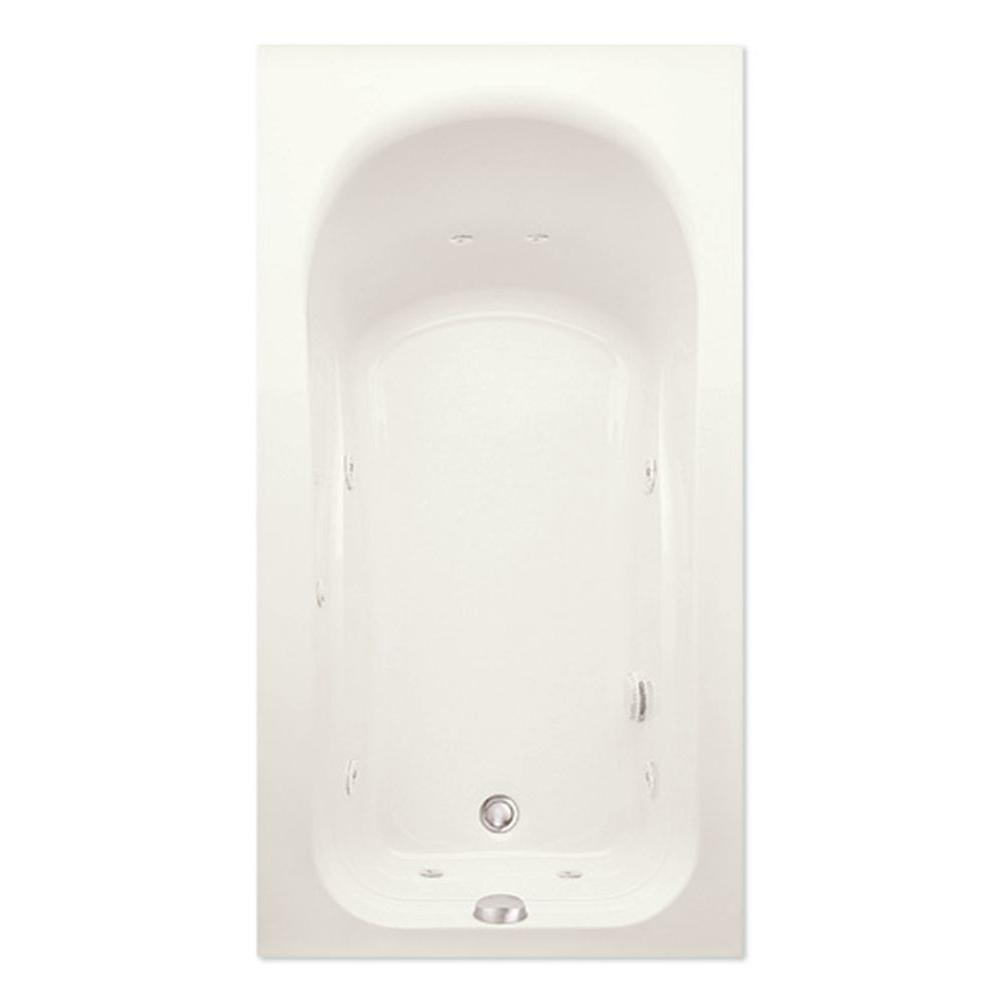 Dossi 30Q 5 ft. Left Hand Drain Acrylic Whirlpool Bath Tub