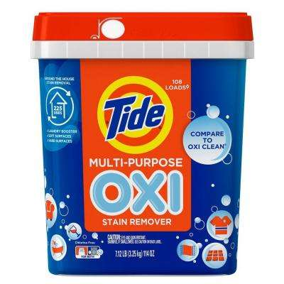 114 oz. Multi-Purpose Stain Remover Powder with Oxi (108 Loads)