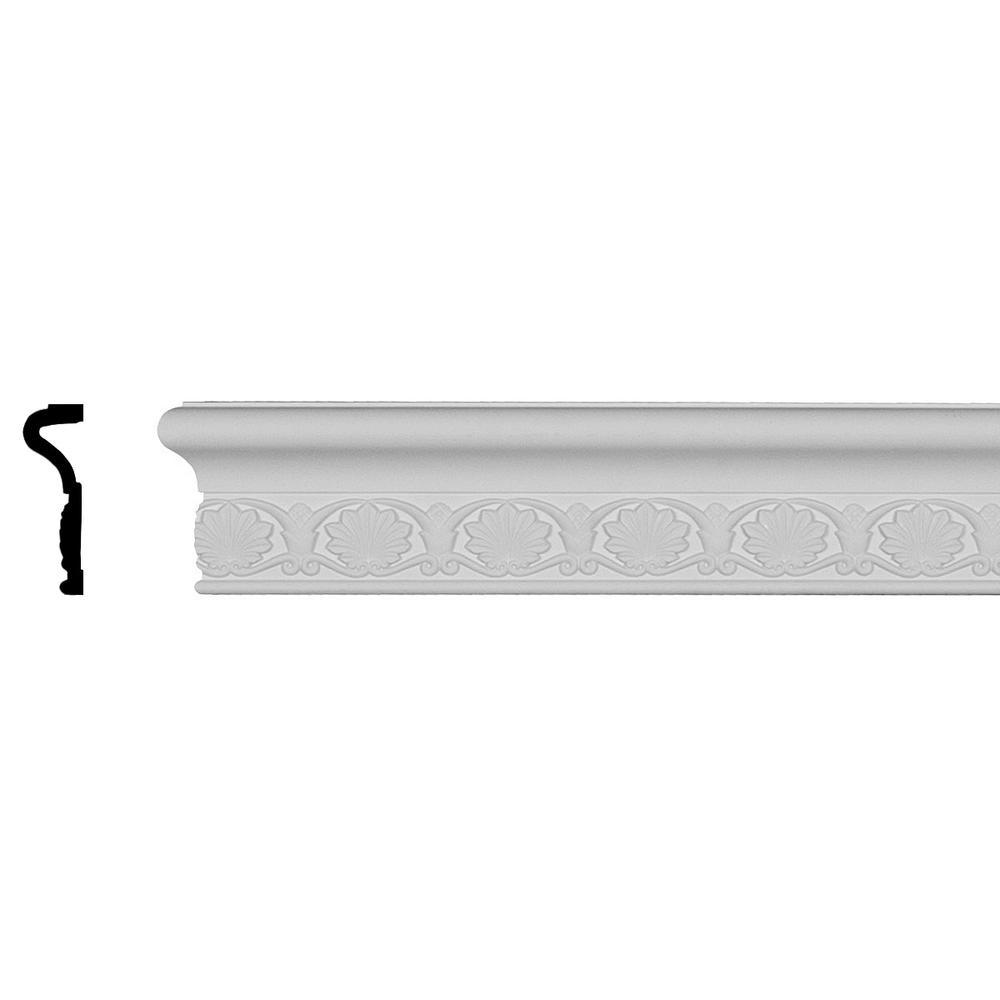 Stabilit 855 1/4 in  x 1-3/8 in  x 96 in  PVC Composite