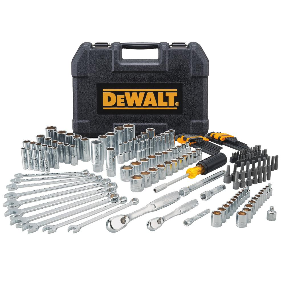 0e5ea4dc57f DEWALT Mechanics Tool Set (172-Piece)-DWMT81533 - The Home Depot