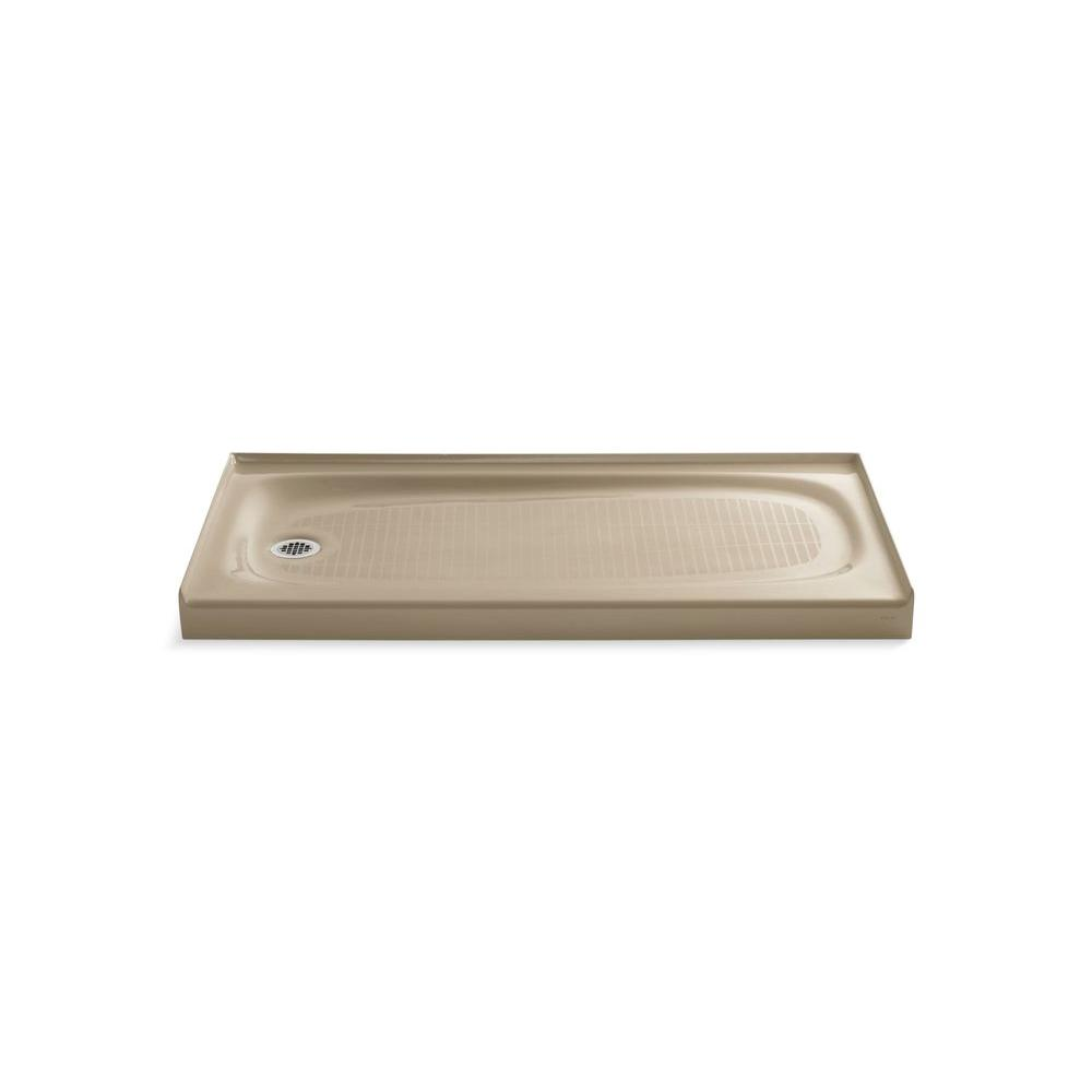 Salient 60 in. x 30 in. Single Threshold Shower Base in