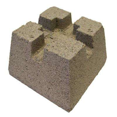 7-3/4 in. x 10-3/4 in. x 10-3/4 in. Concrete Deck Block