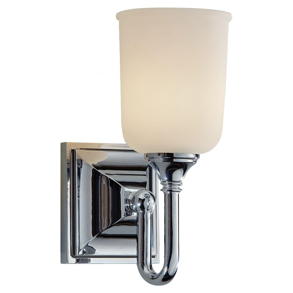 Harvard Chrome Vanity Light