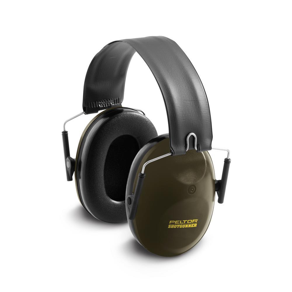Peltor Sport Shotgunner Green Folding Headband Earmuffs (Case of 2)