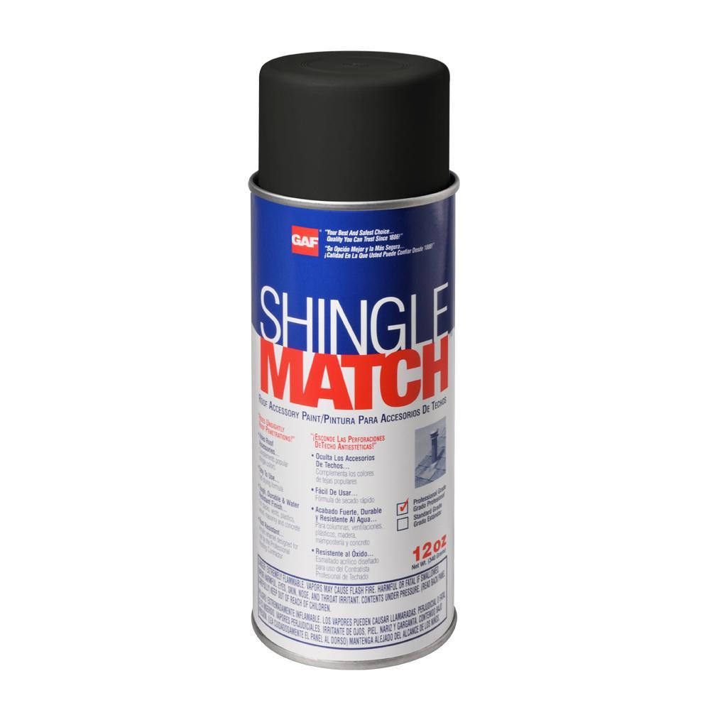 Shingle Match Charcoal Black Roof Sealant Accessory Paint