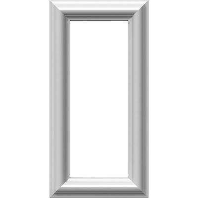 8 in. W x 16 in. H x 1/2 in. P Ashford Molded Classic Wainscot Wall Panel